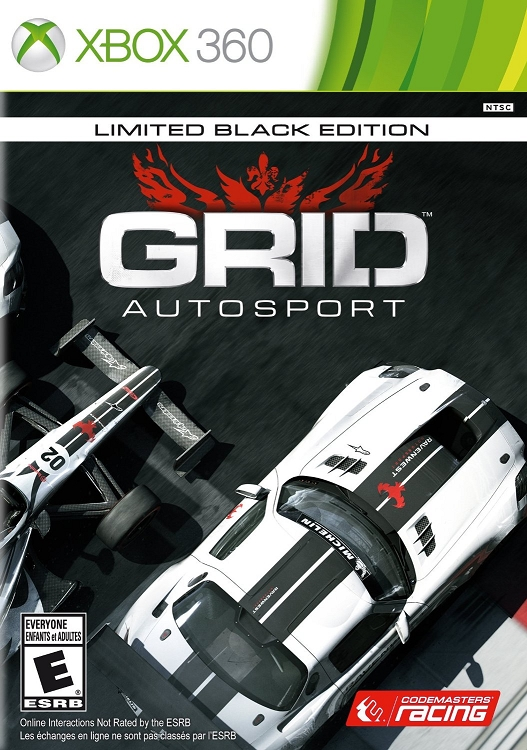 Grid Autosport Limited Black Edition Xbox 360 game