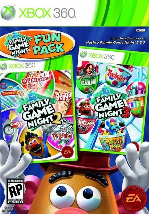 Fun Games For Xbox Original : Hasbro family game night fun pack xbox