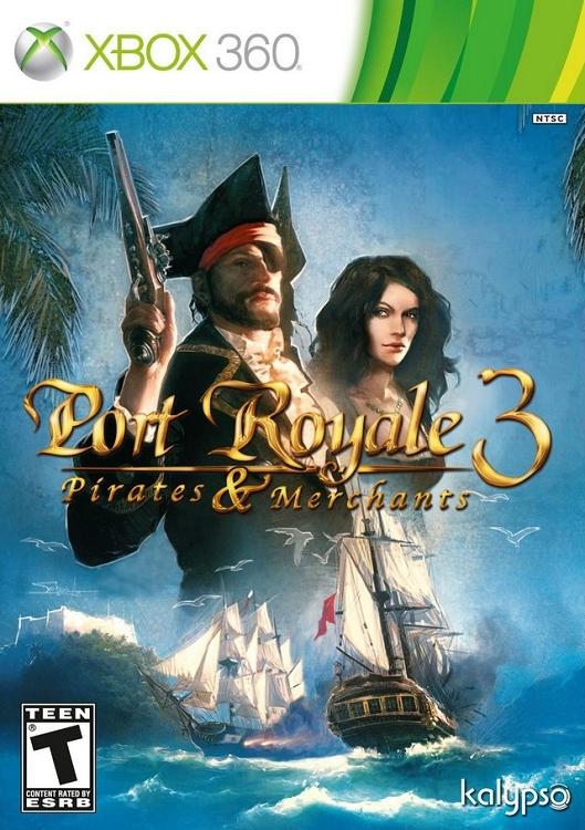 Port Royale 3: Pirates & Merchants Xbox 360 game