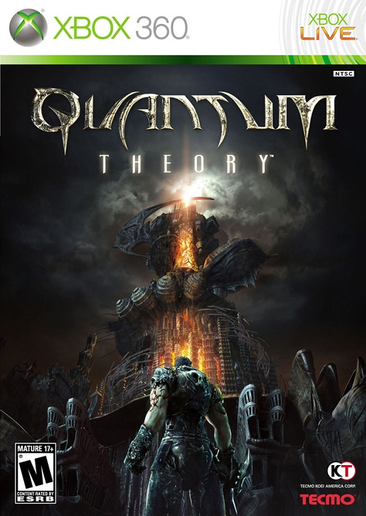 Only For Xbox 360 Games : X quantum theory game only xbox