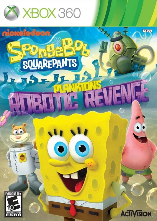 SpongeBob: Plankton's Robotic Revenge - Announcement ...