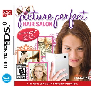 Hair Stylist Games on Picture Perfect Hair Salon Ds Game