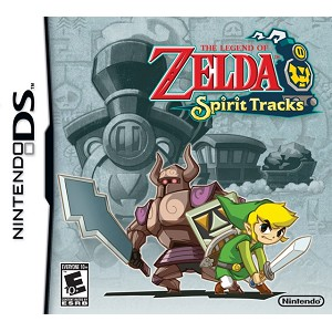 The Legend of Zelda: Spirit Tracks DS Game