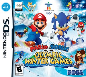 Mario and Sonic Olympic Winter Games DS Game