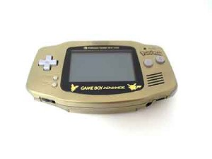 Pokemon Center Gold Game Boy Advance System