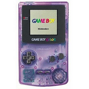 Atomic Purple Game Boy Color System