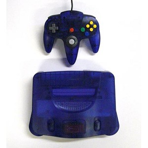 Grape Purple Nintendo 64 System!