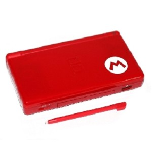 Nintendo DS Lite - Red Mario Edition System