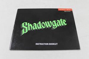 Manual - Shadowgate - Fun Nes Nintendo Adventure