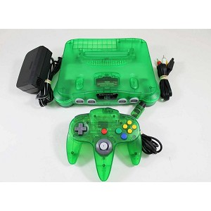Jungle Green Nintendo 64 System!