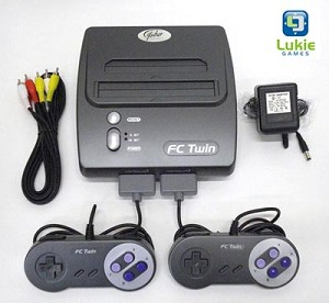 New FC Twin System in Box - Plays NES and SNES Games!