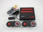 New Red Retro Duo System in Box - Plays NES and SNES Games!