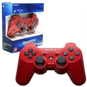 PS3 DUALSHOCK 3 WIRELESS CONTROLLER - RED