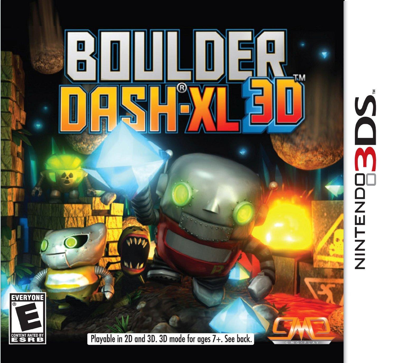 Boulder Dash XL 3D Nintendo 3DS Game