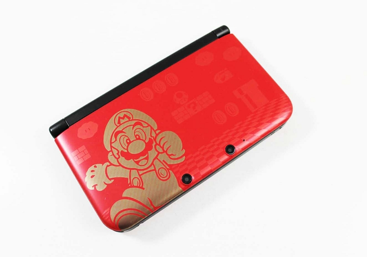 Nintendo 3ds Xl Gold Super Mario Bros 2 System Discounted