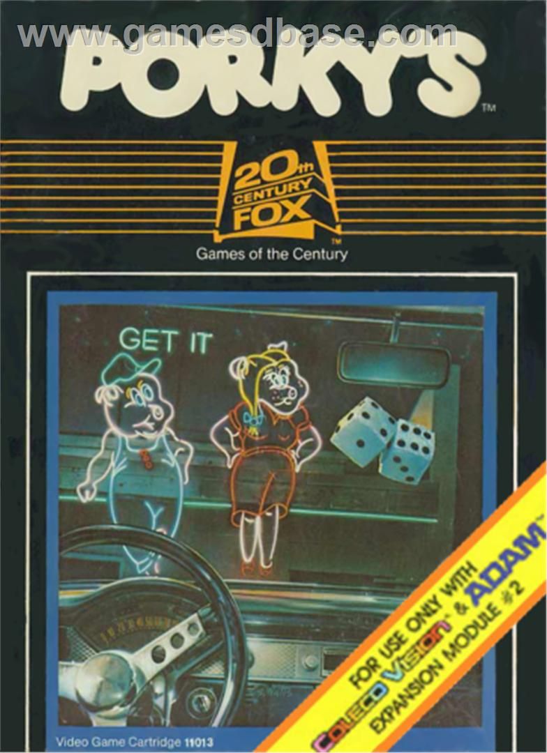 Porky's (Homebrew) - ColecoVision Game