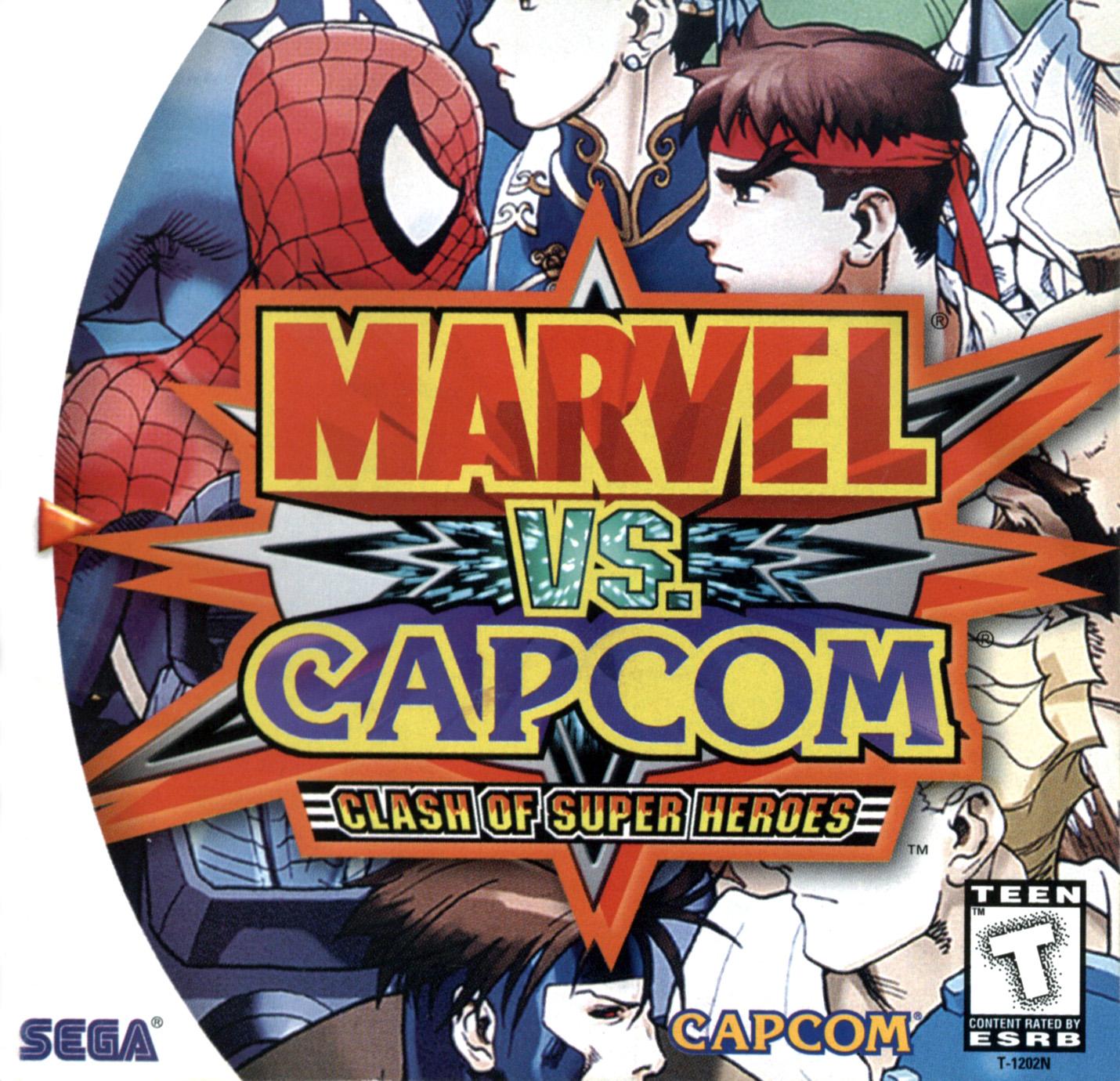 Marvel Vs Capcom Dreamcast Game