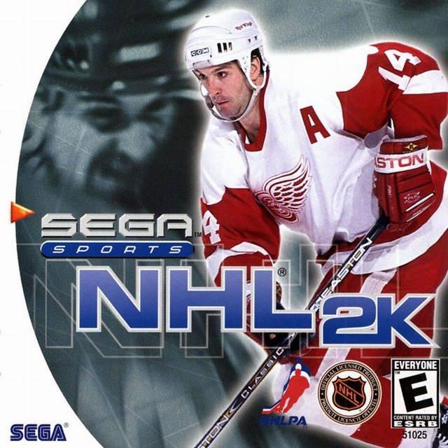 nhl 2k dreamcast game