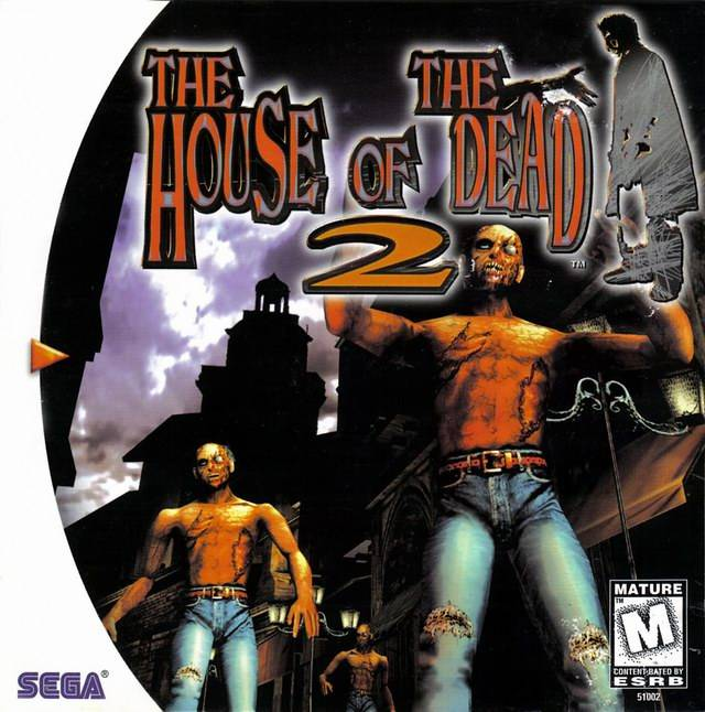 The house of the dead 2 dreamcast game for Housse of the dead