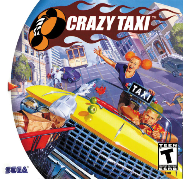 Image result for crazy taxi dreamcast