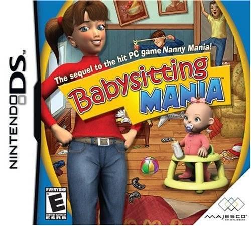 Babysitting Mania DS Game