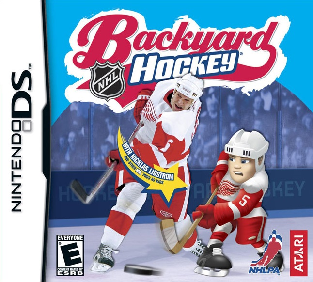 backyard hockey ds game