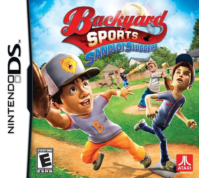 Backyard Sports: Sandlot Sluggers DS Game