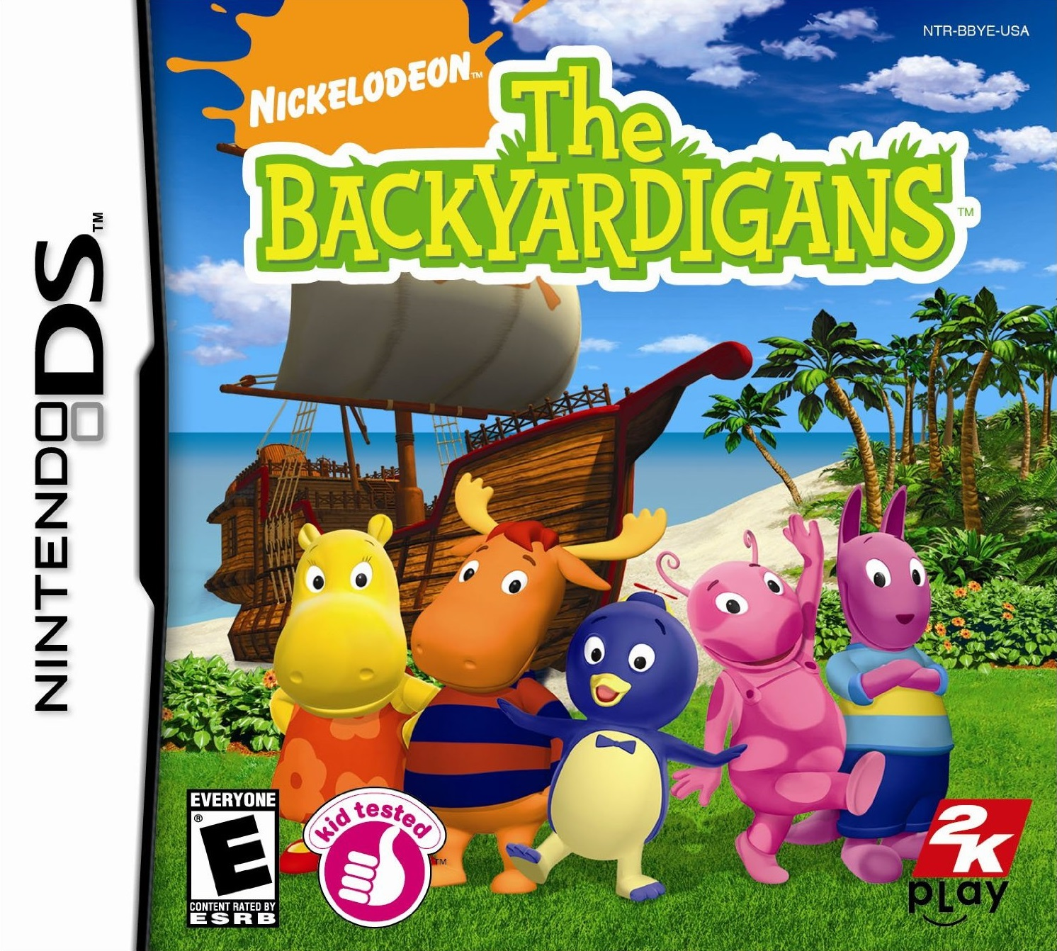 the backyardigans ds game