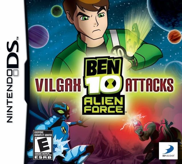 Ben 10: Alien Force: Vilgax Attacks DS Game