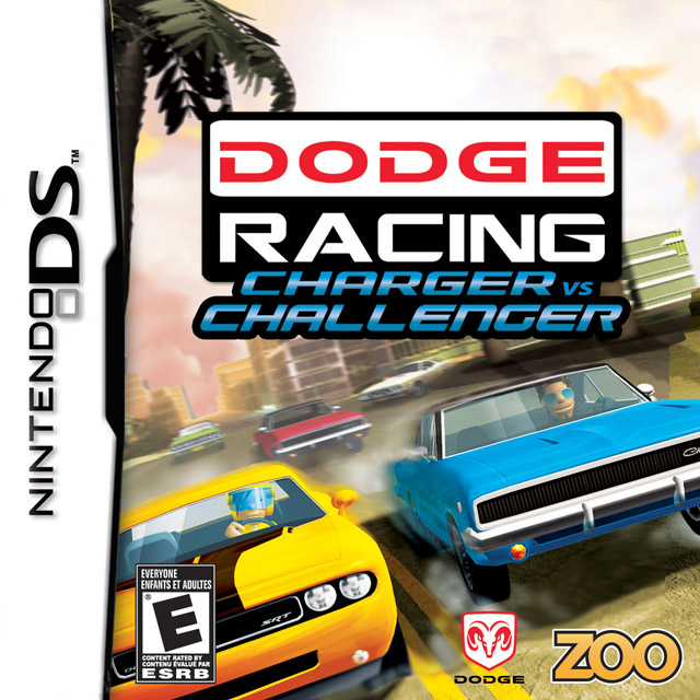 Challenger Vs Charger >> Dodge Racing: Charger vs. Challenger DS Game