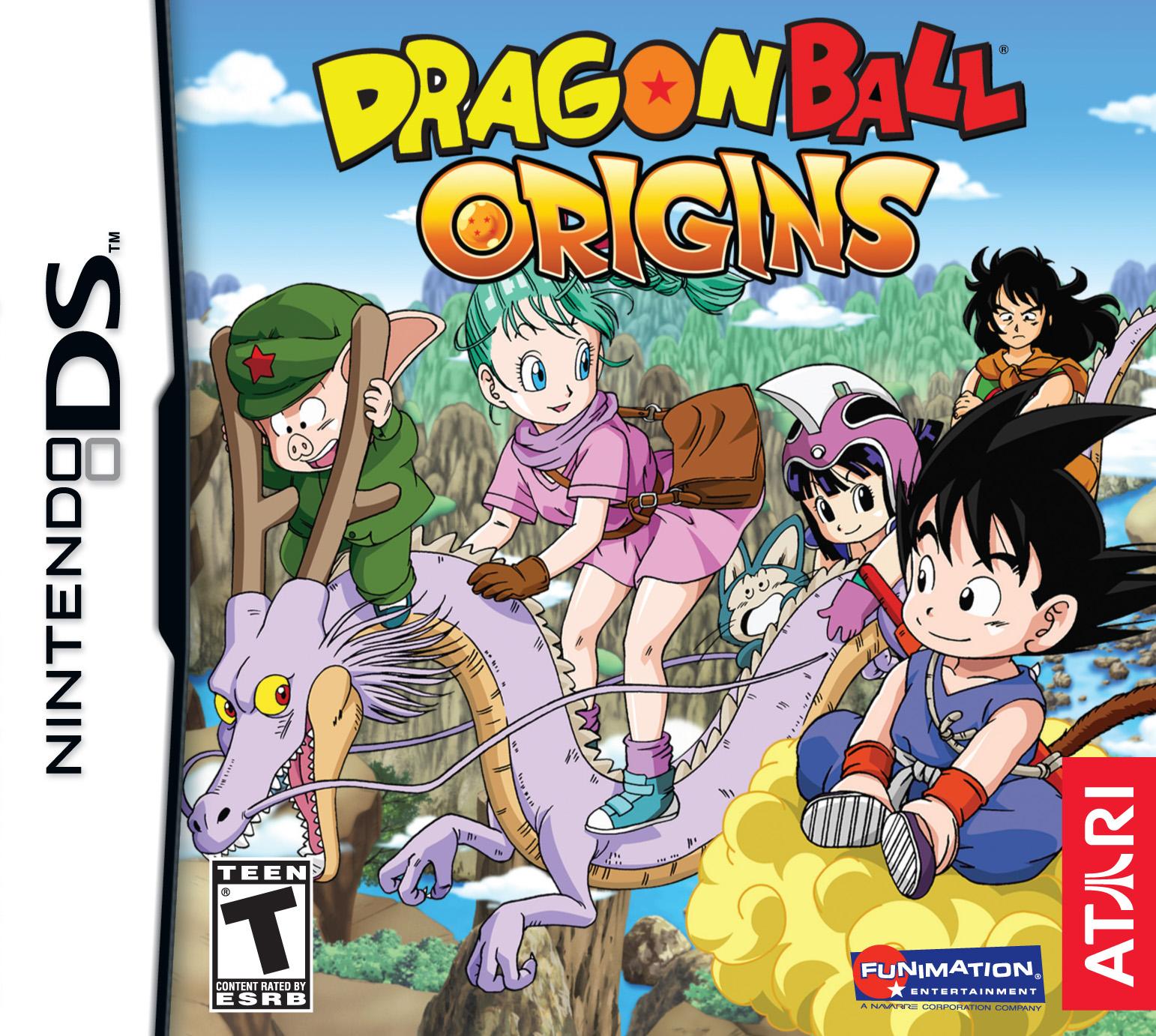 dragon ball origins ds game. Black Bedroom Furniture Sets. Home Design Ideas
