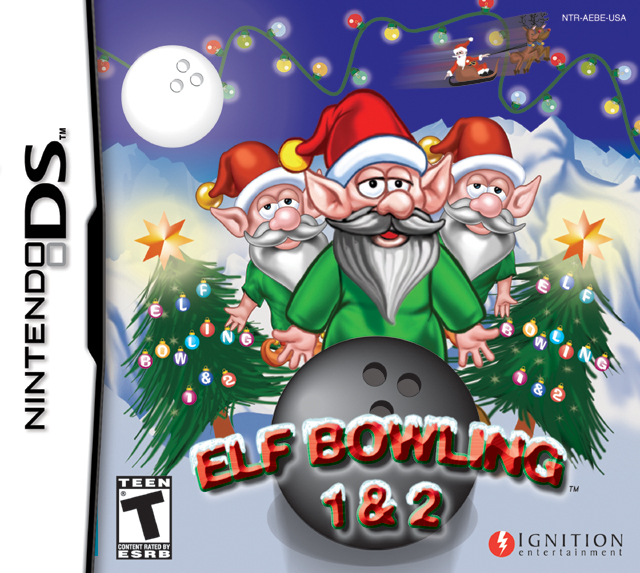 Elf Bowling 1 Amp 2 Ds Game