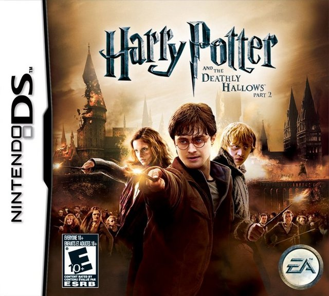 harry potter and the deathly hallows part 2 ds game