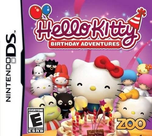 Hello Kitty: Birthday Adventures DS Game