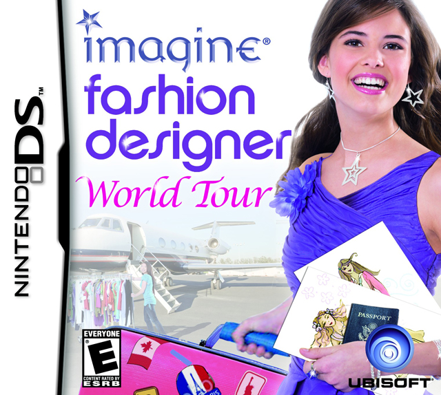 Imagine Fashion Designer World Tour Ds Game