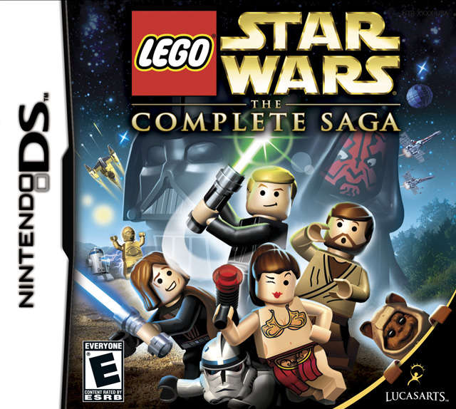 Lego Star Wars Complete Saga DS Game