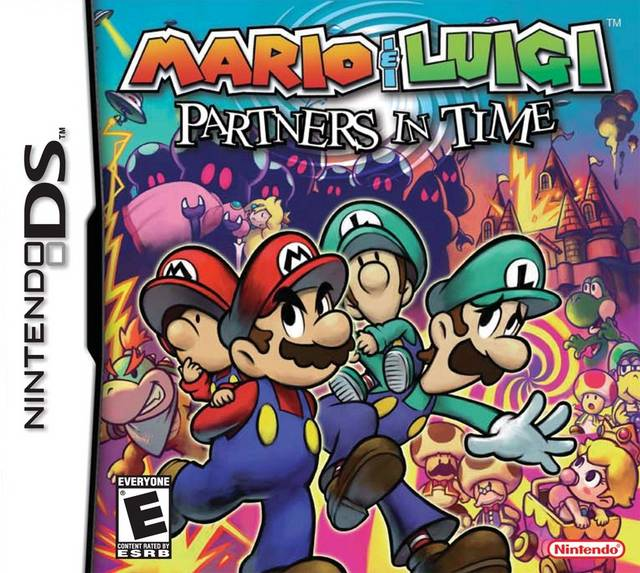 mario and luigi partners in time ds game