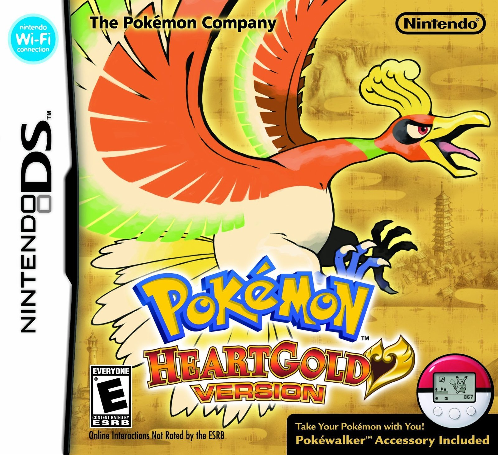 Pokemon HeartGold Version DS Game