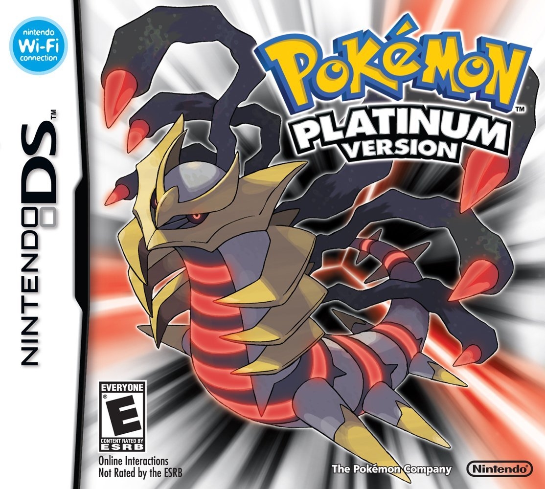Nintendo Ds Pokemon Games : Pokemon platinum ds game