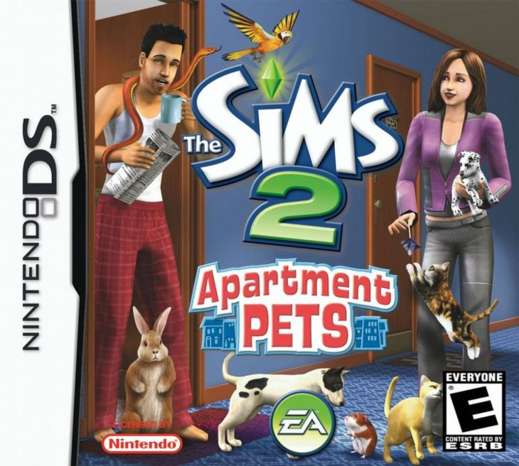 The Sims 2 Apartment Pets Ds Game