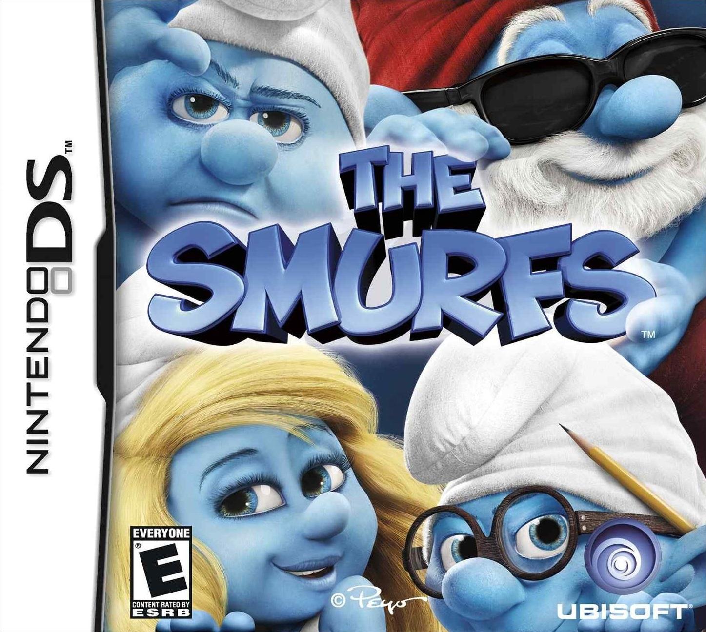 The Smurfs Nintendo Ds Game