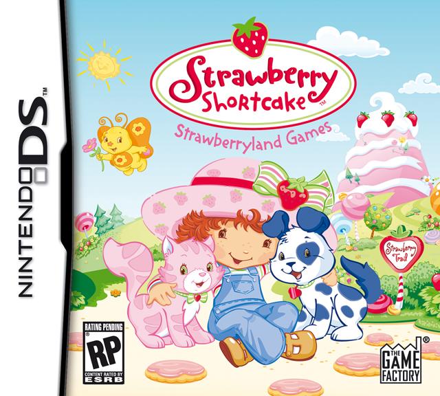 Strawberry Shortcake Strawberryland Games DS Game