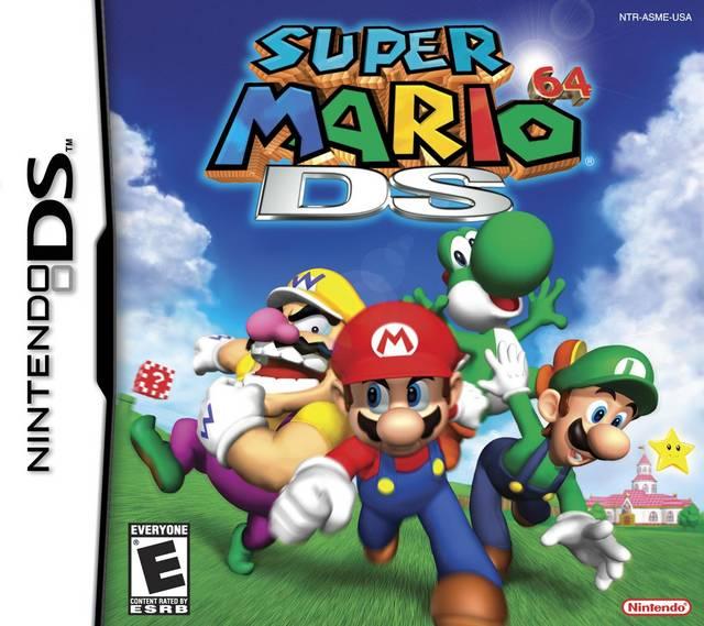 Super Mario 64 Ds Nintendo Game