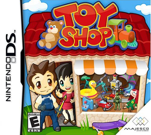 Toy Game On Ds : Toy shop ds game