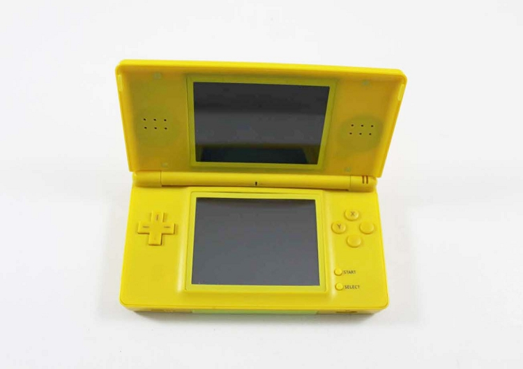 nintendo ds lite pikachu yellow edition system. Black Bedroom Furniture Sets. Home Design Ideas