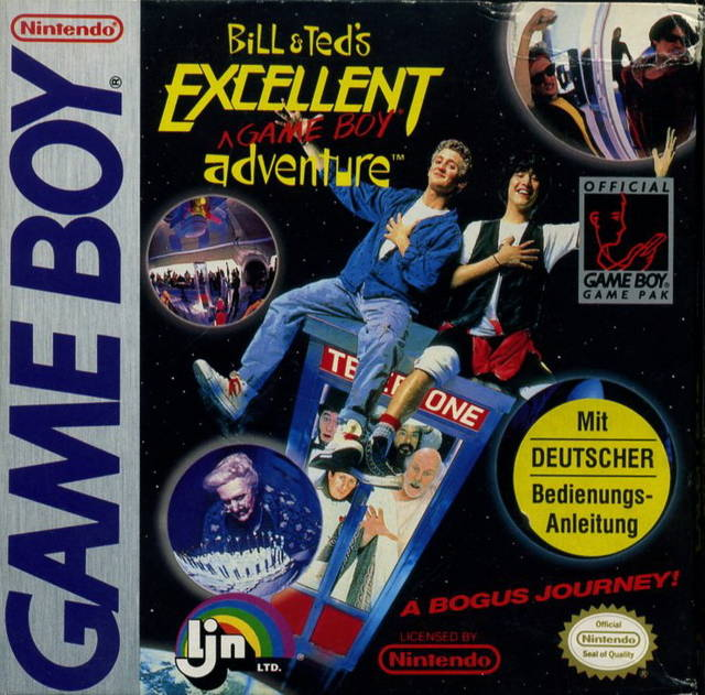 Bill and Ted's Excellent Adventure Game Boy