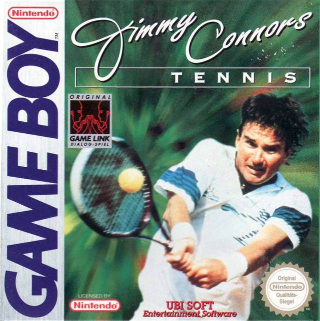 jimmy connors tennis nintendo game boy game