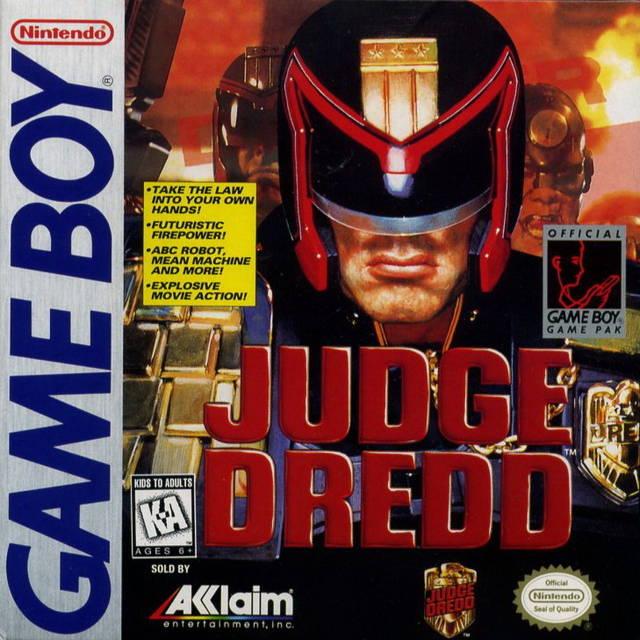 Judge Dredd Game