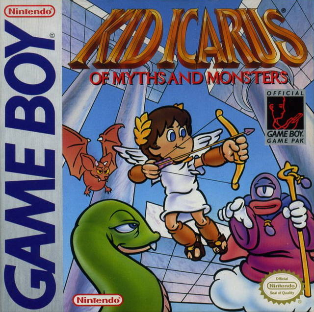 Kid Icarus Myths And Monsters Game Boy