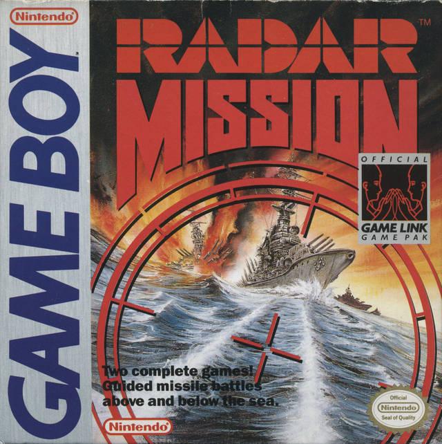 Radar Mission Nintendo Game Boy Game
